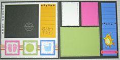 6x6 scrapbook, scrapbook layouts, scrapbook club, christma album, scrapbook sketch, 6x6 sketch