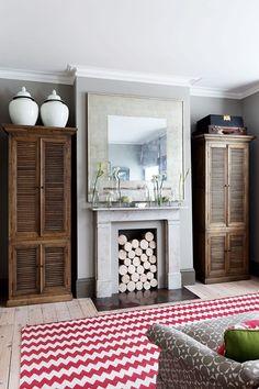 Bold Chevrons - Living Room Design Ideas & Pictures - Decorating Ideas (houseandgarden.co.uk)