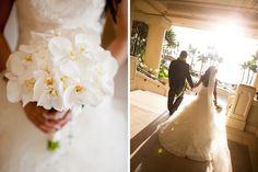 beautiful light illuminating the bride and groom! @Mandy Dewey Seasons Resort Maui