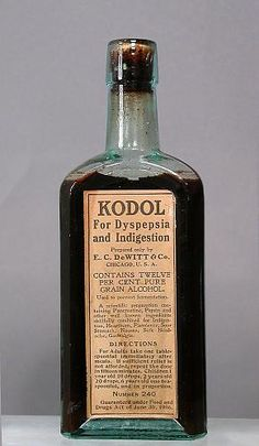 Kodol; alcohol 12% (drug active ingredients); 1906-1908