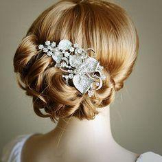 art deco wedding, vintage hair, wedding hairs, bridal hair, vintage inspired wedding, vintage art, flower, wedding hair accessories, hair combs