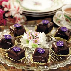 chocolate hazelnut petits fours glaces recipe | use real butter
