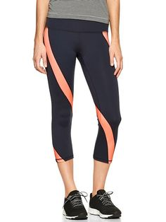 GapFit Motion capris are the perfect go-to workout pants! #QBlog #WorkoutWear #Fitness #Style