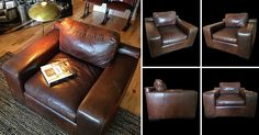Arhaus Leather Club