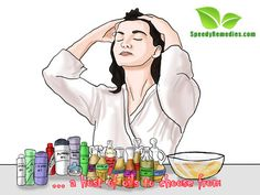 Oil massage for hair growth