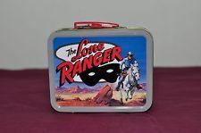 The Lone Ranger MINI Tin Lunchbox Cheerios 2001