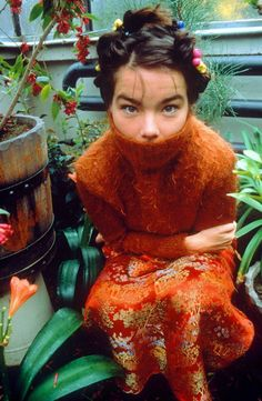 bjork...deserves her own category, actually.