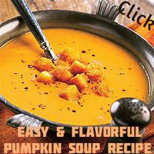 Vegetarian Pumpkin Soup Recipe - It's easy, it's flavorful, and you can make it in just 15 minutes. Click photo for recipe.