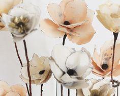 Watercolour paper flower tutorial