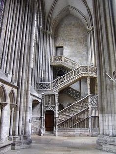 The Notre-Dame Cathedral in Rouen