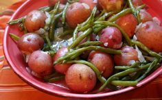 Southern Country Green Beans and New Potatoes - one pot, down home cooking deliciousness!