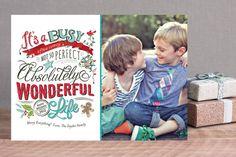 Perfectly Wonderful Holiday Photo Cards
