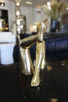 Kelly Wearstler Bronze Legs #bronze #kellywearstler #legs