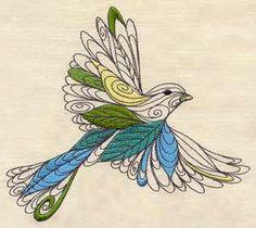 machine embroidery pattern