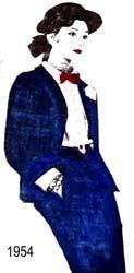 1954 - Tailleur de Tweed