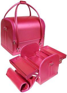 Pink Professional Makeup Case