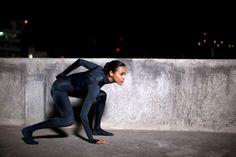 Plain Black Velvet Catsuit worn By Zoe Saldana. Buy your Catsuit for dance from DCUK Dance Clothes.