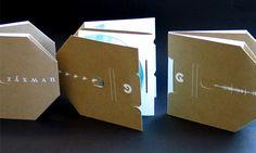 brown paper cd pack