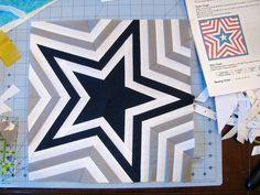 Quilt Star by Sarah.WV, via Flickr