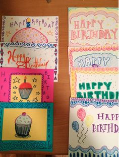 1,000,000 kids experience homelessness every year. 100% of them have birthdays.  Many kids celebrate their birthdays while living in homeless shelters. Make their birthday special this year by creating and sending a homemade birthday card to them.   www.dosomething.org/birthdaymail