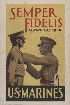 Marine Corps Recruiting Booklet, 1940 | Flickr: Intercambio de fotos