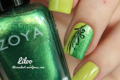 Spring and St Patrick's nail art ideas(Cool And Cute)