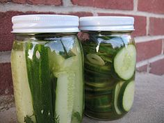 Make your own pickles from cukes! #HomemadeLancaster