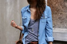 chambray over grey