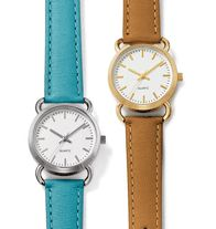 Easy Elegance Strap Watch: Sale $14.99