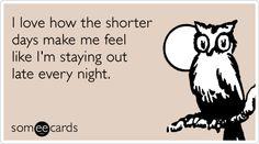 I'm such a night owl :)