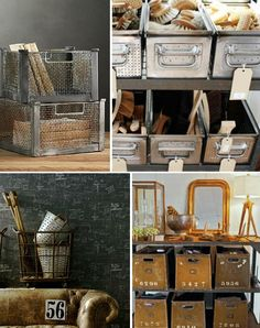 wire bins and baskets