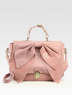 RED Valentino Bow Top Handle Bag 745