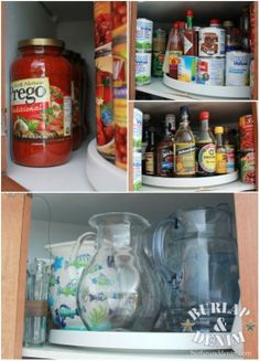 lots of good tips for kitchen organization