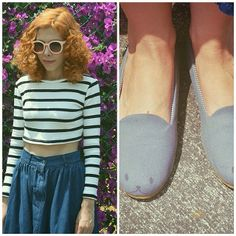 Get your retro sunglasses and your Monica loafers on!