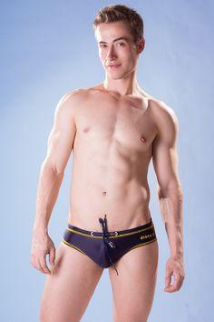 Dietz - Slip Swimsuit BA - Front - www.johnnybeachbuns.com