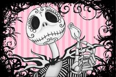 Nightmare before Christmas Jack Skellington by ShayneoftheDead, $4.00