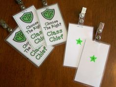 These badges are to help keep the reverence during the 2 hour block. Great instructions and a wonderful idea!