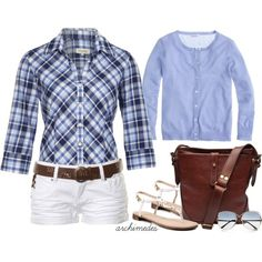 """""""Summer Blues"""" by archimedes16 on Polyvore"""