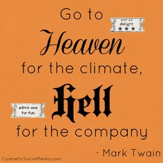 a summary of was it heaven or hell by mark twain Was it heaven or hell chapter i you told a lie you confess it--you actually confess it--you told a lie chapter ii the family consisted of four persons.