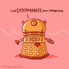 Doctor Who dalek Valentine <3