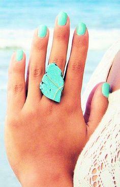 Turquoise Ring ღ L.O.V.E.