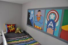 super hero bedroom by simone