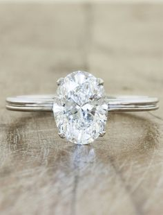 Oval Engagement Rings by Ken & Dana Design