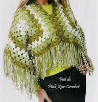 "In the greens granny square shawl with diagram - click the word ""grafico"" underneath the picture to view diagram."