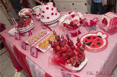 PolkaDotted Farm, Emma's Ladybug First Birthday Party