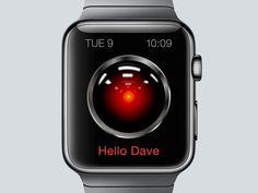 Apple Watch HAL9000 by Denys Nevozhai