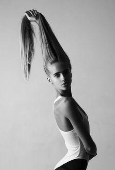 Model, Valeria Sokolova (alas, no photo cred)