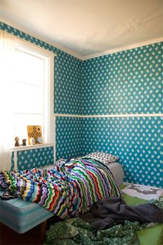 A colorful room