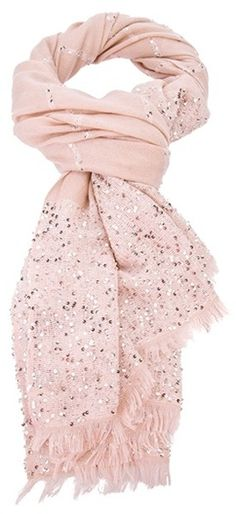 Valentino Sequin Scarf- This is darling.