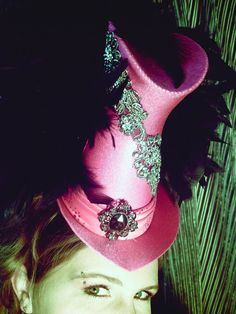 show girl hat